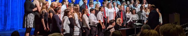 Chorus at Winter Concert